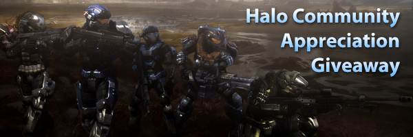 Halo Community Appreciation Giveaway
