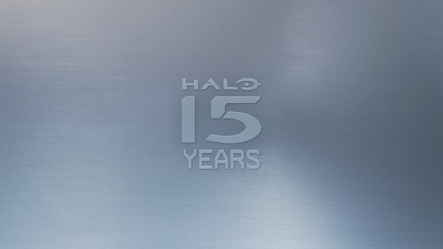 Halo 15th Anniversary Plaque