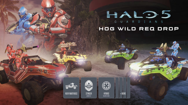 Halo 5 Guardians Hog Wild Vis ID Horizontal