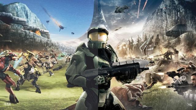 Halo CE Anniversary Comparison