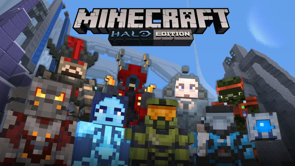 Halo Arrives On Minecraft Tomorrow Podtacular - Skins para minecraft pocket edition de halo
