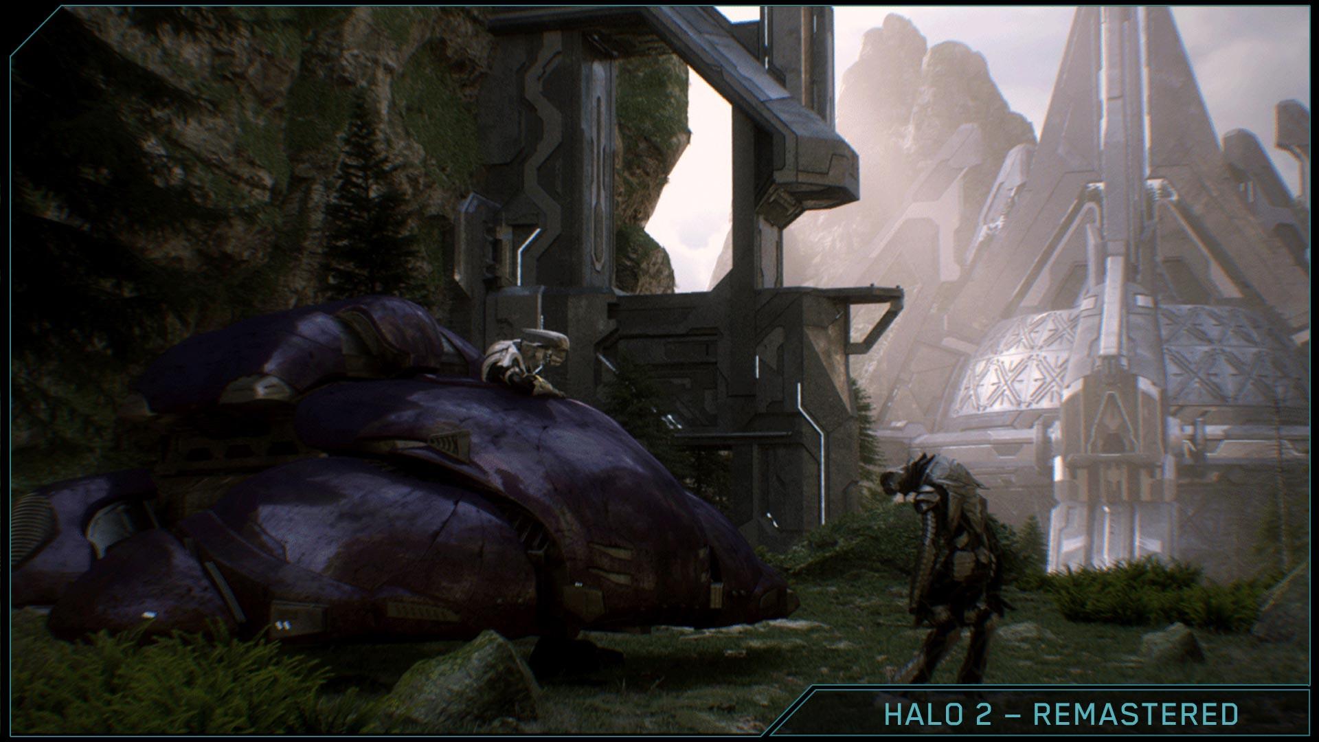 Halo 2 Anniversary Gravemind Comparison Halo 2 Anniversary Uprising