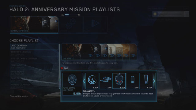 All Skulls and LASO Playlists in Halo: The Master Chief Collection