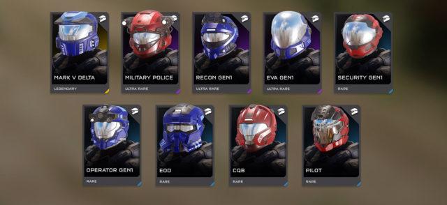 Halo Classic Helmets