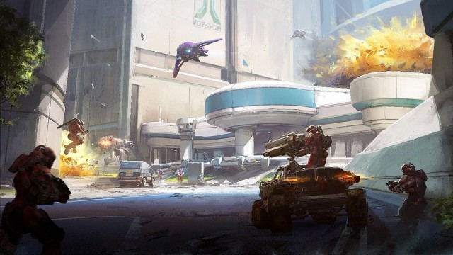 First Look at the Halo 5 Cartographer's Gift Content Update ...